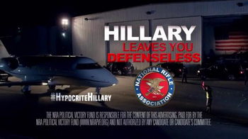 NRA Political Victory Fund TV Spot, 'Hillary Leaves You Defenseless' - Thumbnail 8