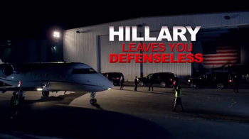 NRA Political Victory Fund TV Spot, 'Hillary Leaves You Defenseless' - Thumbnail 7
