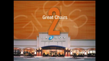 La-Z-Boy 2 Great Chairs Sale TV Spot, 'Mix & Match' - Thumbnail 1