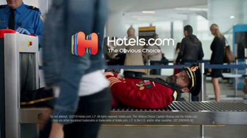 Hotels.com TV Spot, 'Captain Obvious at the Airport' - Thumbnail 8