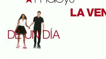 Macy's La Venta de Un Día TV Spot, 'Ropa casual, zapatos y más' [Spanish] - Thumbnail 1