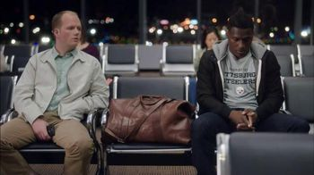 NFL Football Fantasy TV Spot, 'Friends Don't Small Talk: Airport' - 910 commercial airings