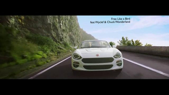 2017 FIAT 124 Spider TV Spot, 'Free Like a Bird' Song by Wyclef Jean - Thumbnail 2
