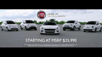 2017 FIAT 124 Spider TV Spot, 'Free Like a Bird' Song by Wyclef Jean - Thumbnail 9