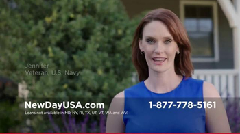 New Day USA VA Loan TV Commercial, 'Veteran Homeowner ...