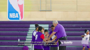 Xarelto TV Spot, 'High Risk of Stroke' Featuring Jerry West - Thumbnail 5