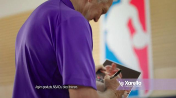 Xarelto TV Spot, 'High Risk of Stroke' Featuring Jerry West - Thumbnail 7