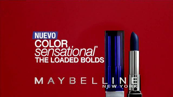 Maybelline Color Sensational The Loaded Bolds TV Spot, 'El molde' [Spanish] - Thumbnail 3