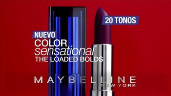 Maybelline Color Sensational The Loaded Bolds TV Spot, 'El molde' [Spanish] - Thumbnail 9