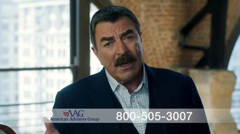 AAG Reverse Mortgage TV Spot, 'Homework' Featuring Tom Selleck - Thumbnail 4