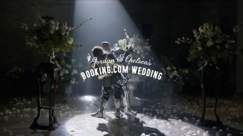 Booking.com TV Commercial, 'Jordan & Chelsea's Wedding: First Dance'