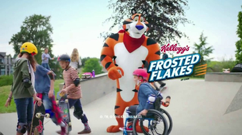 Frosted Flakes TV Spot, 'Skate Park' - Thumbnail 10
