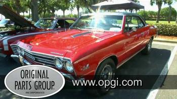 OPGI Original Parts Group Inc TV Spot, 'Quality Parts: Chevrolet Models' - Thumbnail 1