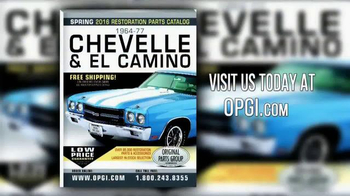 OPGI Original Parts Group Inc TV Spot, 'Quality Parts: Chevrolet Models' - Thumbnail 8