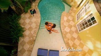 Sandals Grande Antigua Resorts TV Spot, 'Falling in Love' - Thumbnail 5