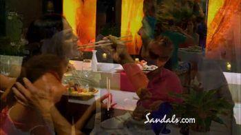 Sandals Grande Antigua Resorts TV Spot, 'Falling in Love' - Thumbnail 6