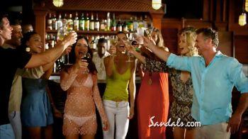 Sandals Grande Antigua Resorts TV Spot, 'Falling in Love' - Thumbnail 7