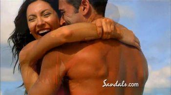 Sandals Grande Antigua Resorts TV Spot, 'Falling in Love' - Thumbnail 8