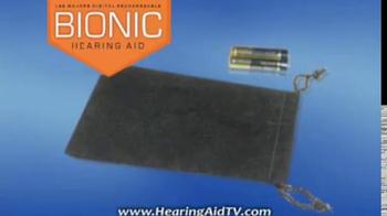 Hearing Assist Bionic Hearing Aid TV Spot, 'Discreet' Featuring Lee Majors - Thumbnail 10
