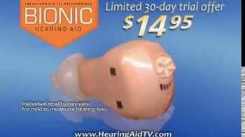 Hearing Assist Bionic Hearing Aid TV Spot, 'Discreet' Featuring Lee Majors - Thumbnail 9