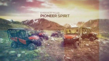 Honda Pioneer 1000 TV Spot, 'Bowhunting Pioneer' Featuring Fred Eichler