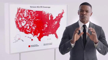 Verizon TV Spot, 'Best Coverage' Featuring Jamie Foxx - Thumbnail 1