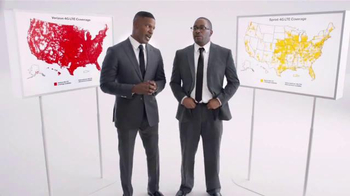 Verizon TV Spot, 'Best Coverage' Featuring Jamie Foxx - 2990 commercial airings
