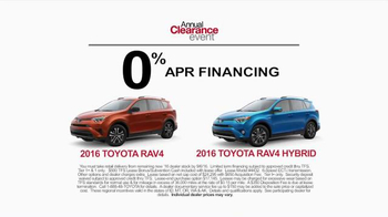 Toyota Annual Clearance Event TV Spot, 'Camping' - Thumbnail 4