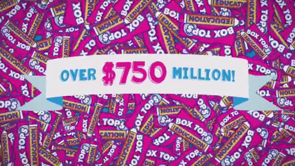 Box Tops For Education TV Commercial, '20 Years'