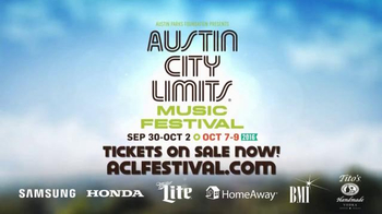 Austin Parks Foundation TV Spot, '2016 Austin City Limits Music Festival' - Thumbnail 5