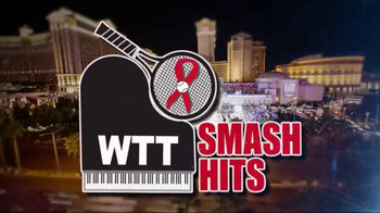 World Team Tennis TV Spot, '2016 WTT Smash Hits: Caesars Palace' - 30 commercial airings