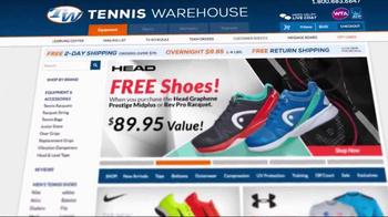 Tennis Warehouse TV Spot, 'Save, Save, Save' - Thumbnail 1