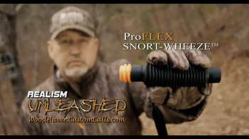 Woodhaven Custom Calls ProFLEX Snort-Wheeze TV Spot, 'Two Shots'