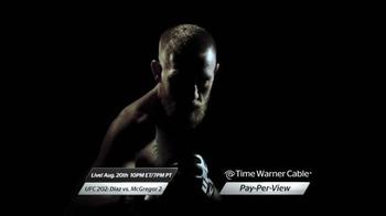 Time Warner Cable On Demand TV Spot, 'UFC 202: Diaz vs. McGregor' - Thumbnail 8