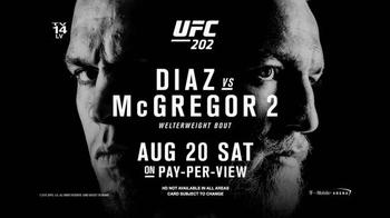 Time Warner Cable On Demand TV Spot, 'UFC 202: Diaz vs. McGregor' - Thumbnail 9