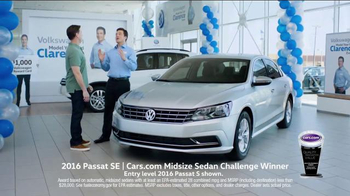 Volkswagen Model Year End Event TV Spot, 'Clarence: Passat' - Thumbnail 2