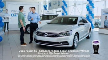 Volkswagen Model Year End Event TV Spot, 'Clarence: Passat' - Thumbnail 3