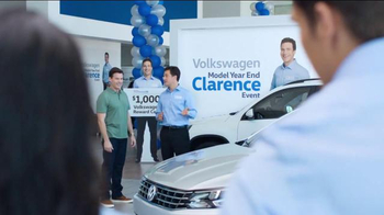 Volkswagen Model Year End Event TV Spot, 'Clarence: Passat' - Thumbnail 5