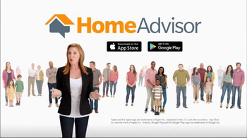 HomeAdvisor TV Spot, 'Happy Homeowners' Featuring Amy Matthews