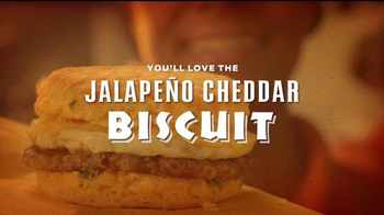 Whataburger Jalapeno Cheddar Biscuit TV Spot, 'Get Your Day Started' - Thumbnail 8