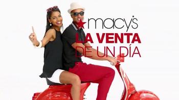 Macy's La Venta de Un Día TV Spot, 'Ofertas del día: el hogar' [Spanish] - Thumbnail 10