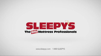 Sleepy's Lowest Prices of the Season TV Spot, 'Queen Sets on Sale' - Thumbnail 5