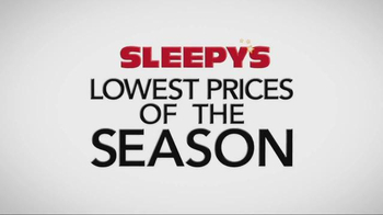 Sleepy's Lowest Prices of the Season TV Spot, 'Queen Sets on Sale' - Thumbnail 1