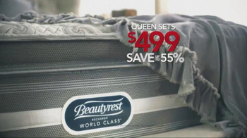 Sleepy's Lowest Prices of the Season TV Spot, 'Queen Sets on Sale' - Thumbnail 4