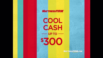 Mattress Firm Sleep Happy Summer Sale TV Spot, 'Queen Sets & Cool Cash' - Thumbnail 5