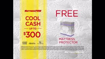 Mattress Firm Sleep Happy Summer Sale TV Spot, 'Queen Sets & Cool Cash' - Thumbnail 6