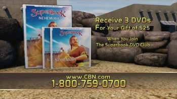 Superbook DVD Club TV Spot, 'Doing What's Right'
