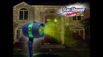 Star Shower Motion TV Spot, \'Holidays Come to Life\'