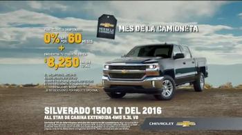 2016 Chevrolet Silverado 1500 TV Spot, 'Capacidad de remolque' [Spanish] - Thumbnail 10