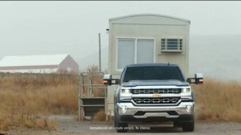 2016 Chevrolet Silverado 1500 TV Spot, 'Capacidad de remolque' [Spanish]